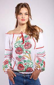 Женская блуза вышиванка Колоски