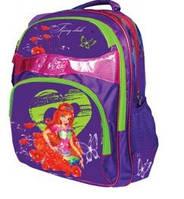 """Рюкзак """"Fairy Club 3"""",2 відд,38*29*15см,JQ PL,фіол,,9428, CLASS"""