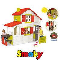 Двухэтажный садовый домик Smoby Duplex