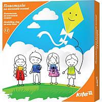 K17-1086 Пластилин восковой (12 цветов, 240 г) KITE 2017 Kite 1086