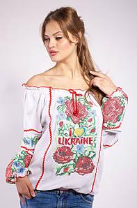 Женская блуза вышиванка Любовь