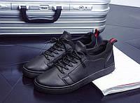 Мокасины туфли мужские   материал верха -кожа ,ортопедическая стелька р-р 41-44 черные,синие