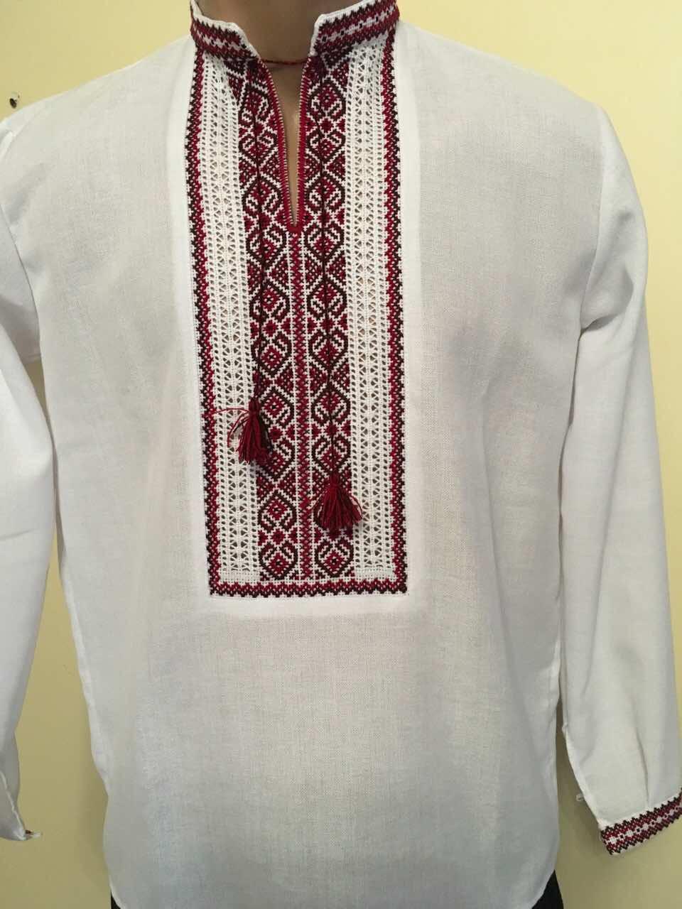 Біла вишита сорочка для хлопчика 13-15 років  продажа cfdff8a879331