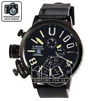 Часы U-boat Italo Fontana 4566 black/yellow