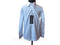 Рубашка приталенная для мальчика 100% коттон, 6 шт. в упаковке, размер от 6 до 11 лет