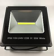 Прожектор светодиодный LED уличный50W 6500LM 6500K