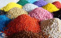 MultiChem. Трипс жовтий, 1 кг. Песок цветной для детей, творчества, аквариума, террариума, декора.