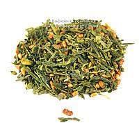Чай китайский зеленый Генмайча с рисом весовой 100г