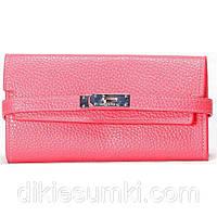 Женский кошелек  розового цвета