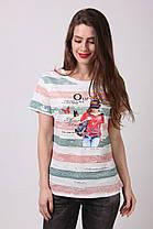 Женская стильная  футболка, фото 2