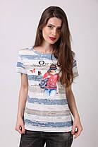 Женская стильная  футболка, фото 3