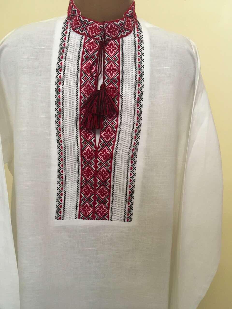 Сорочка вишита на домотканому полотні для хлопчика 13-15 років - Інтернет  магазин виробів ручної 4e09988513a9a