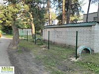 Забор из сварной сетки  Рубеж 5*5 3*1,5