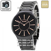 Часы Rado ceramic quartz 5052 black/brown ААА