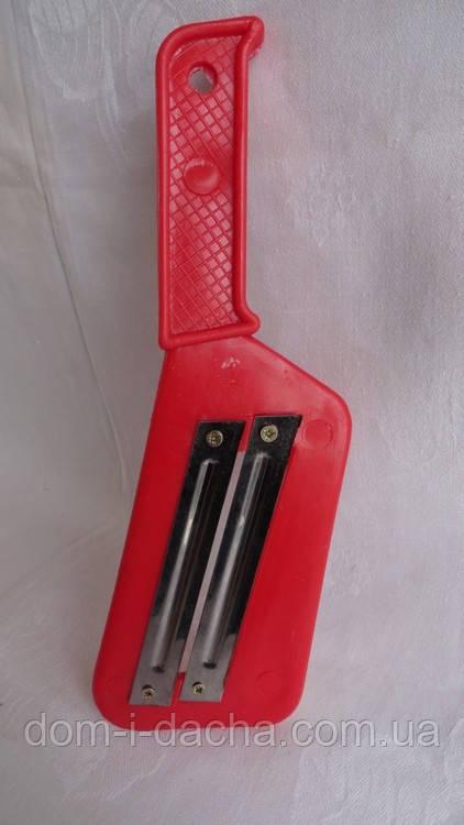 Шинковка пластиковая с 2 ножами