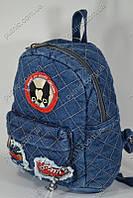 Рюкзак детский джинсовый, фото 1