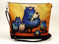 Женская сумочка Многодетная кошка, фото 1