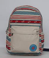 Женский рюкзак с модным материал (котон), фото 1