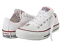 Кеды Converse All Star Low белые 35-45