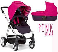 Детская универсальная коляска 2 в 1 Mamas and Papas Sola 2 2017 Pink Silver