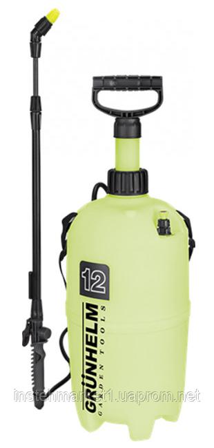Обприскувач садовий пневматичний Grunhelm SP-12 (12 л)