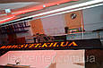 Красная светодиодная бегущая строка P 10 для уличного использования, фото 2