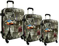 Дорожный чемодан RGL набор 3 штуки City  HC 5188  Одесса