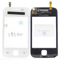 Сенсорный экран Touch screen Samsung S5360 white