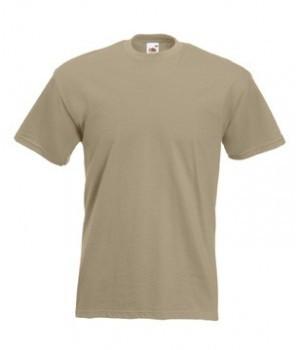 Мужская футболка премиум хаки 044-ЗМ
