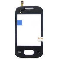 Сенсорный экран Touch screen Samsung S5300, S5302 black