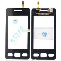 Сенсорный экран Touch screen Samsung S5260 black