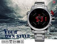 Наручные часы Shark SH 103 (DSO11S) Gulber Shark (Серебро Черный)