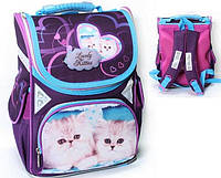 """Рюкзак """"Lovely Kitties"""",2 відд.,34*25*13см,300D PL, 9607 CLASS"""