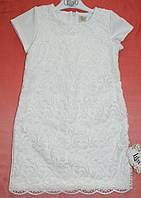 Платье гипюровое 2-3-4-5 лет Шарм1