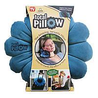 Подушка трансформер для путешествий Тотал Пиллоу (Total Pillow), фото 1