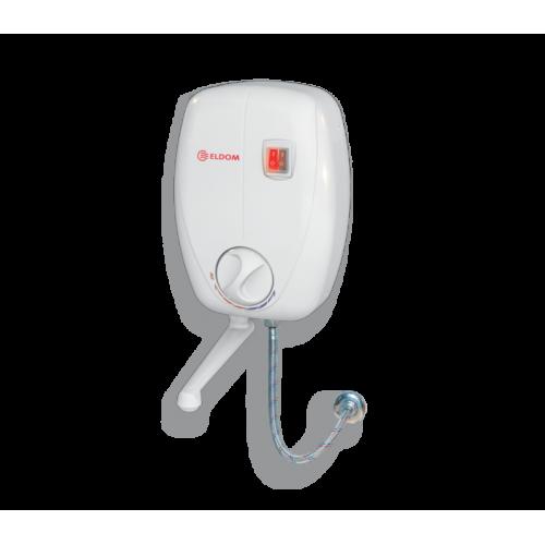 Проточный водонагреватель Eldom Betta 6,5квт кран