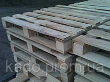 Поддон (европоддон, европаллет) деревянный 1 сорт 1100х1100х145мм