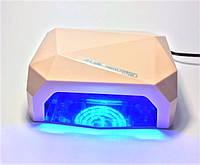 LED+CCFL Лампа гибридная, 36 Вт, сенсорная, таймер