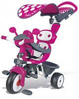 Детский металлический велосипед Комфорт, розовый, 10 мес. +