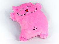 Подушка-игрушка Кот хорошун (розовый)