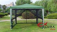 Шатер - павильон  с москитной сеткой 3 х 3 метра (полиэстер)