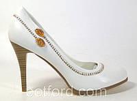 Туфли для особых случаев IVANKA white, р.35-40, фото 1