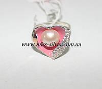 Кольцо с сердечком Жанетт, фото 1