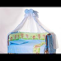 Детский постельный комплект Qvatro Lux 8 ед.