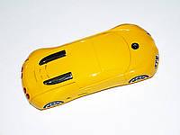 Телефон-машинка Bugatti Veyron C618 желтый