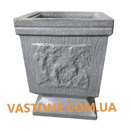 Урна для мусора «№3» бетонная уличная, фото 2