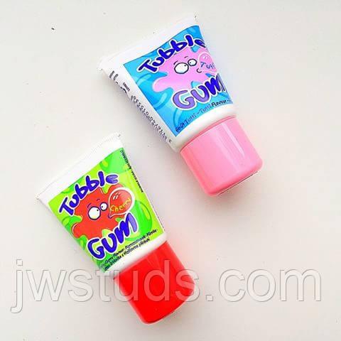 Жидкая жвачка Tubble Gum Бабл гам + Вишня набор 2 шт.  (Франция)