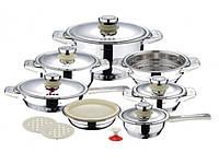 Набор посуды BOHMANN 17 предметов MO-6000N