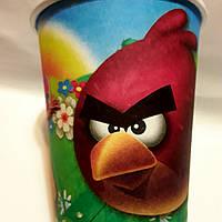 """Стаканчики бумажные детские """" Angry birds """" 10 шт./уп."""