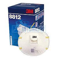 Респиратор 3М 8812 с клапаном, FFP1